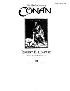 02 - The Bloody Crown Of Conan (Robert E Howard)