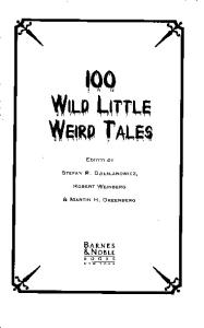 100 Wild Little Weird Tales