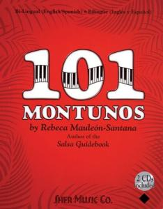 101 Montunos (English and Spanish Edition)  Book and 2 CDs
