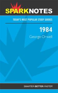 1984 (SparkNotes Literature Guide Series)