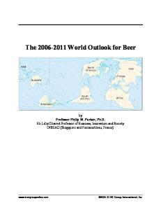 2006-2011 World Outlook for Beer