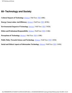 60.Technology and Society