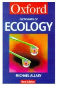 A Dictionary of Ecology (Oxford Paperback Reference)
