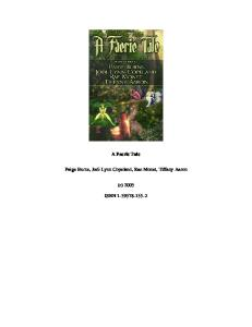 A Faerie Tale [Anthology]