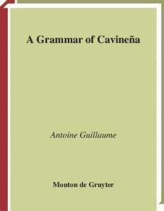 A Grammar of Cavinena
