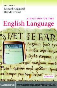 A History of the English Language (2006)