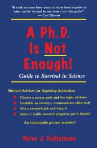 A Ph.D. is not enough