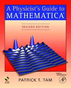 A Physicist's Guide to Mathematica, Second Edition