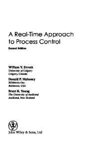 A Real-Time Approach to Process Control