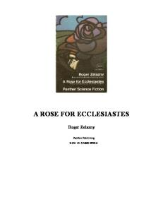 A Rose For Ecclesiastes