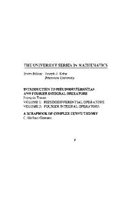 A Scrapbook of Complex Curve Theory (University Series in Mathematics)