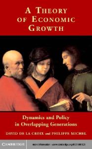 A theory of economic growth