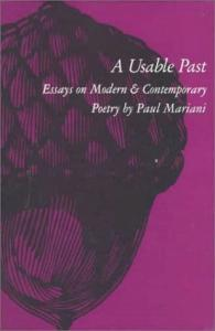 A Usable Past: Essays on Modern and Contemporary Poetry