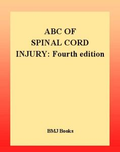 ABC of Spinal Cord Injury