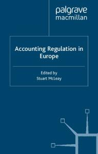 Accounting regulation in Europe