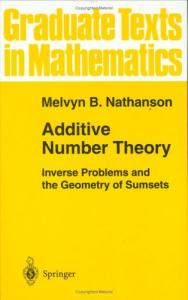 Additive number theory: Inverse problems and the geometry of sumsets