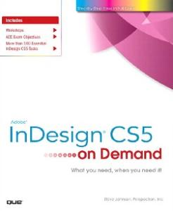 Adobe InDesign CS5 on Demand
