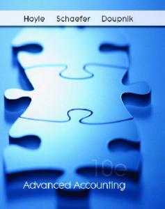 Advanced Accounting, 10th Edition
