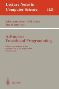 Advanced Functional Programming 2 conf