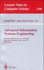 Advanced Information Systems Engineering: 9th International Conference, CAiSE'97, Barcelona, Catalonia, Spain, June 16-20, 1997, Proceedings