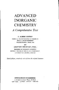 Inorganic Chemistry Housecroft 4th Edition Pdf