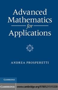 Advanced mathematics for applications