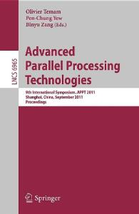 Advanced Parallel Processing Technologies (Lecture Notes in Computer Science)