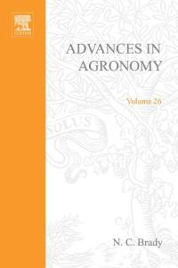 Advances in Agronomy, Volume 26