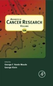 Advances in Cancer Research, Volume 106