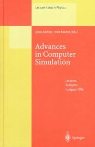 Advances in Computer Simulation