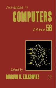 Advances in Computers, Volume 56