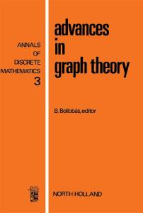 Advances in Graph Theory