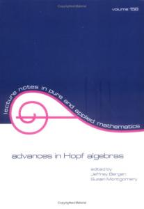 Advances in Hopf algebras