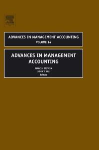 Advances in Management Accounting, Volume 14