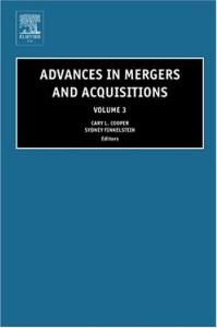 Advances in Mergers and Acquisitions, Volume 3 (Advances in Mergers and Acquisitions)