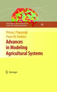 Advances in Modeling Agricultural Systems (Springer Optimization and Its Applications)