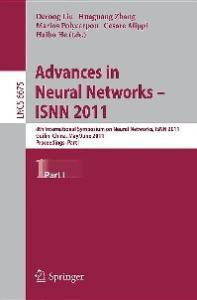 Advances in Neural Networks, Part I - ISNN 2011