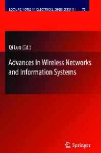 Advances in Wireless Networks and Information Systems (Lecture Notes in Electrical Engineering)