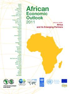 African Economic Outlook 2011: Africa and its Emerging Partners