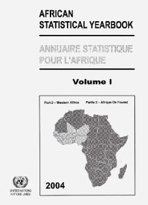 African Statistical Yearbook: Western Africa 2004