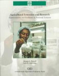 Agricultural extension and research: achievements and problems in national systems