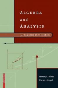 Algebra and Analysis for Engineers and Scientists