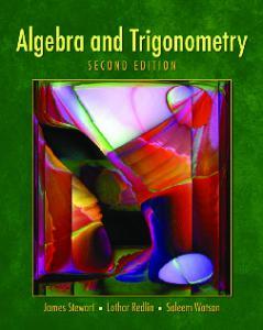 Algebra and trigonometry, 2nd Edition