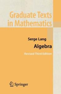Algebra, Revised Third Edition