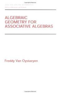 Algebraic geometry for associative algebras