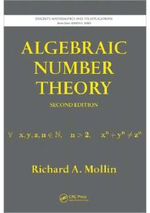 Algebraic Number Theory, Second Edition (Discrete Mathematics and Its Applications)