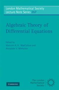 Algebraic Theory of Differential Equations