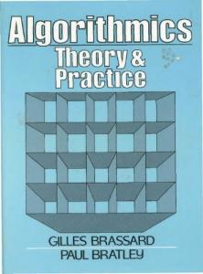 Algorithmics: Theory and Practice