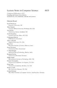 Algorithms and Computation, 18 conf., ISAAC 2007