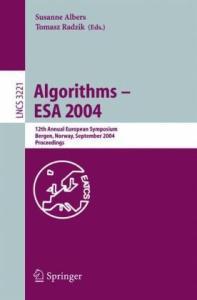 Algorithms - ESA 2004, 12 conf